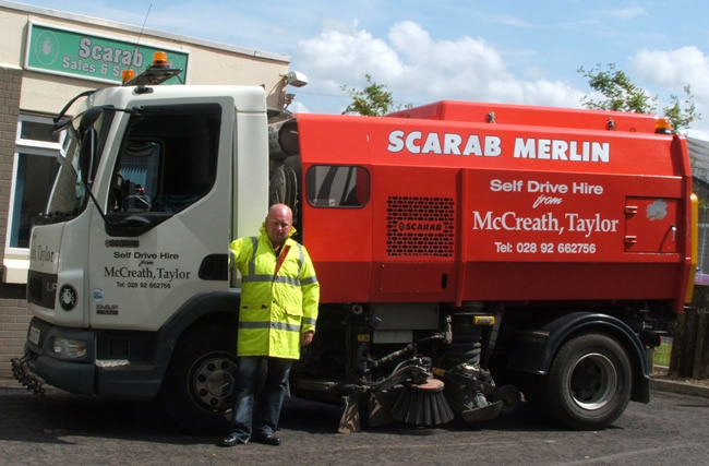 Sweeper Hire Northern Ireland